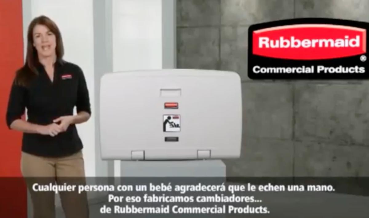 Rubbermaid Cambiador
