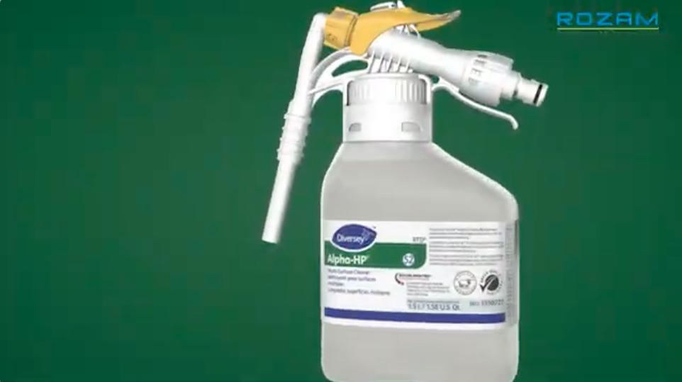 Limpiador desinfectante multisuperficies HP