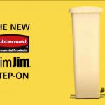 Slim Jim Step On Rubbermaid
